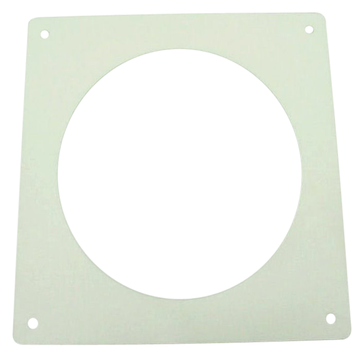 Adaptor wall plate 125mm