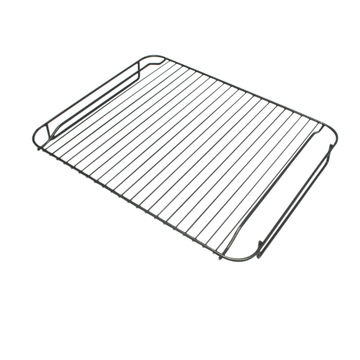 Shelf rack grill insert