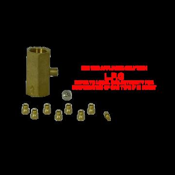 Conversion lp kit inc wok