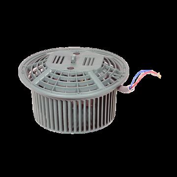 Motor fan assy lh -210mm wires