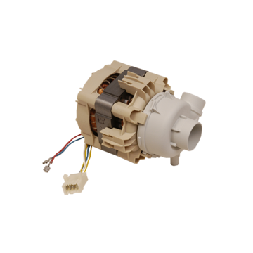 Motor pump with taco