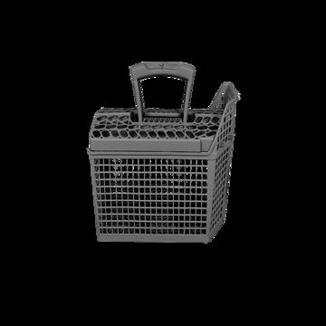 Basket cutlery comp grey