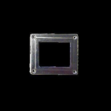 Frame oven lamp side