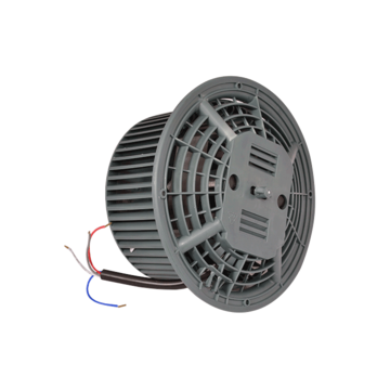 Motor fan assy rh-210mm wires