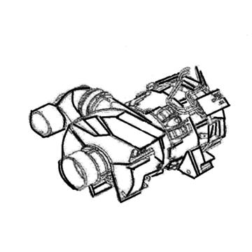 Pump re-circ/heater comp 1800w