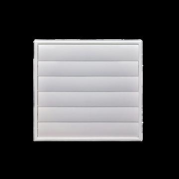 Kit-200mm sq wall vent