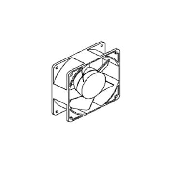 Blade fan cooling compressor