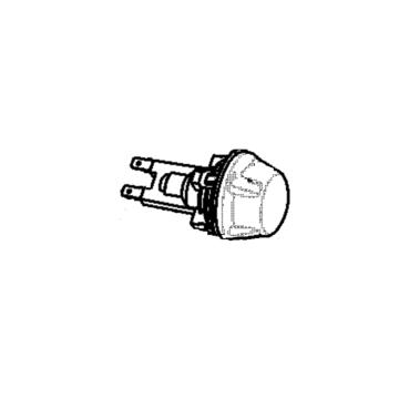 Holder lamp rear halogen bios