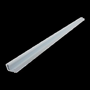 Rail door support 80w wht