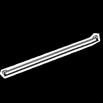 Gasket door lower blk