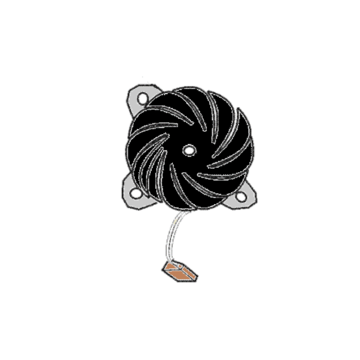 Fan motor (air duct assembly)