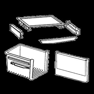 Drawer upper assembly