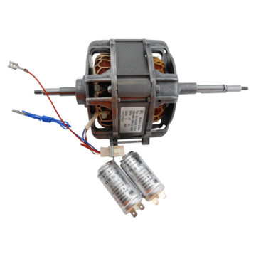 Motor assy with capacitor