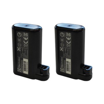 Battery pack of 2