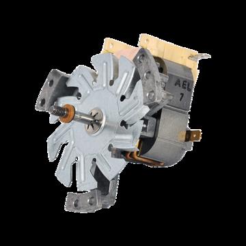 Motor fan oven