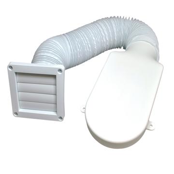Dryer vent kit- condensation removal