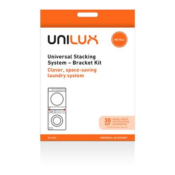 Ulx101 f universal stacking system bracket kit washing machine vented dryer electrolux unilux accessory acc093